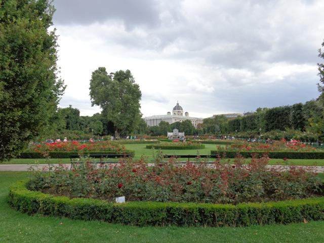 Blick Richtung Hofburg