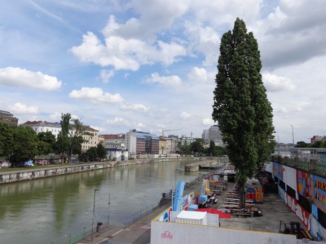 Flex am Donaukanal