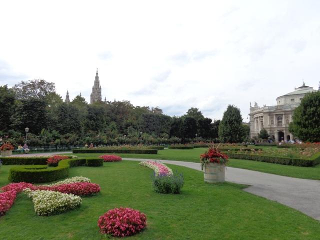 Französischer Garten im Volksgarten