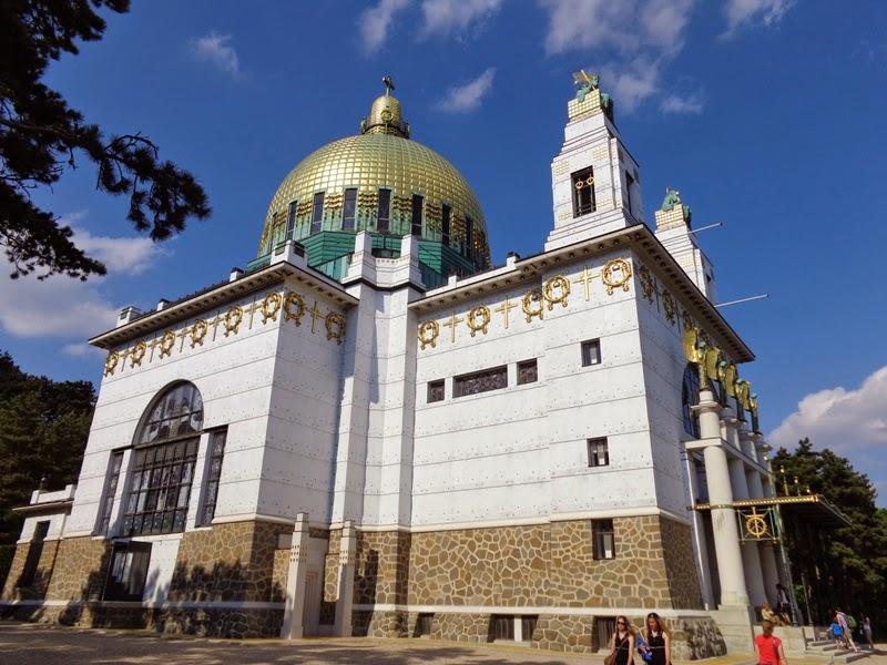 Otto Wagner Kirche in Wien