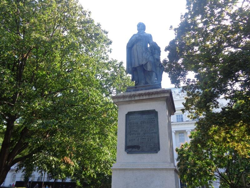 Ressel Statue
