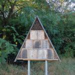 Bienenhaus im Schmetterlingsgarten
