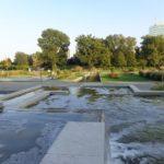 Brunnen im Donaupark