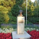 Südamerika Freiheitskämpfer Denkmäler im Donaupark