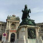 Reiterstatue am Heldenplatz